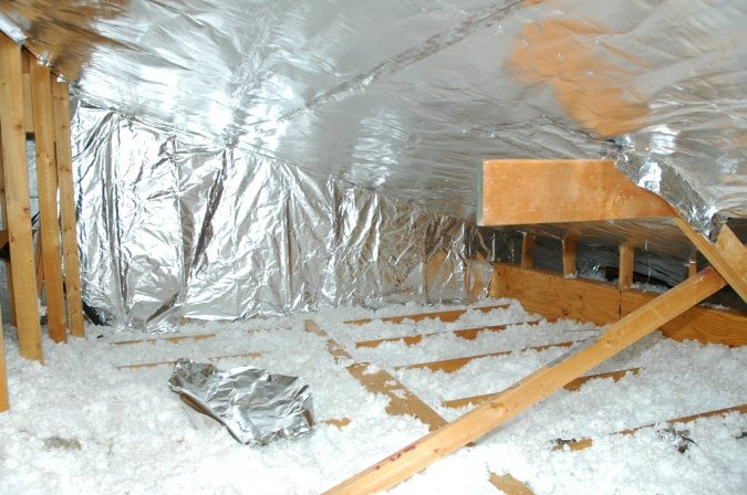 Houston Insulation Contractors Ultimate Radiant Barrier Insulation