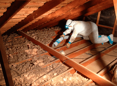 Insulation removal in houston ultimate radiant barrier for Blown in insulation vs batts