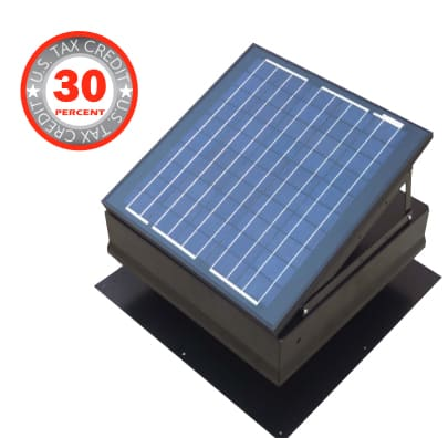 solar attic fans houston