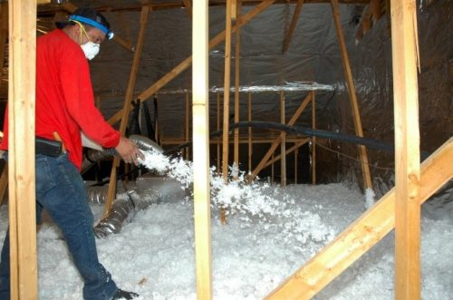 blown fiberglass insulation houston