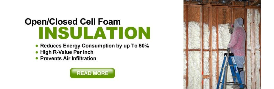 closed cell foam insulation houston