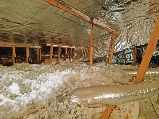 cheap attic insulation