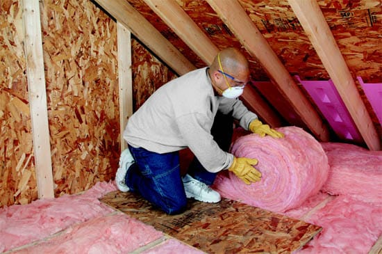 N Fibergl Insulation Or Rolled How To Choose Attic
