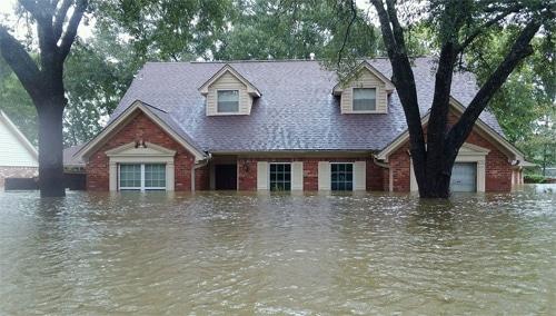 flood damage in houston