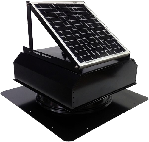 solar attic fan houston
