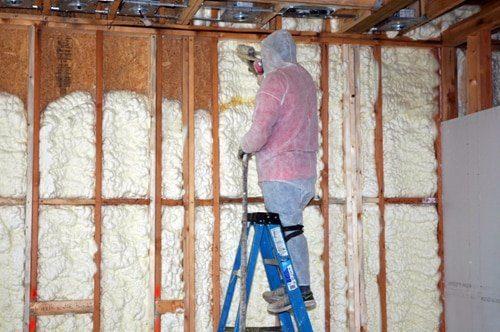 spray foam insulation houston